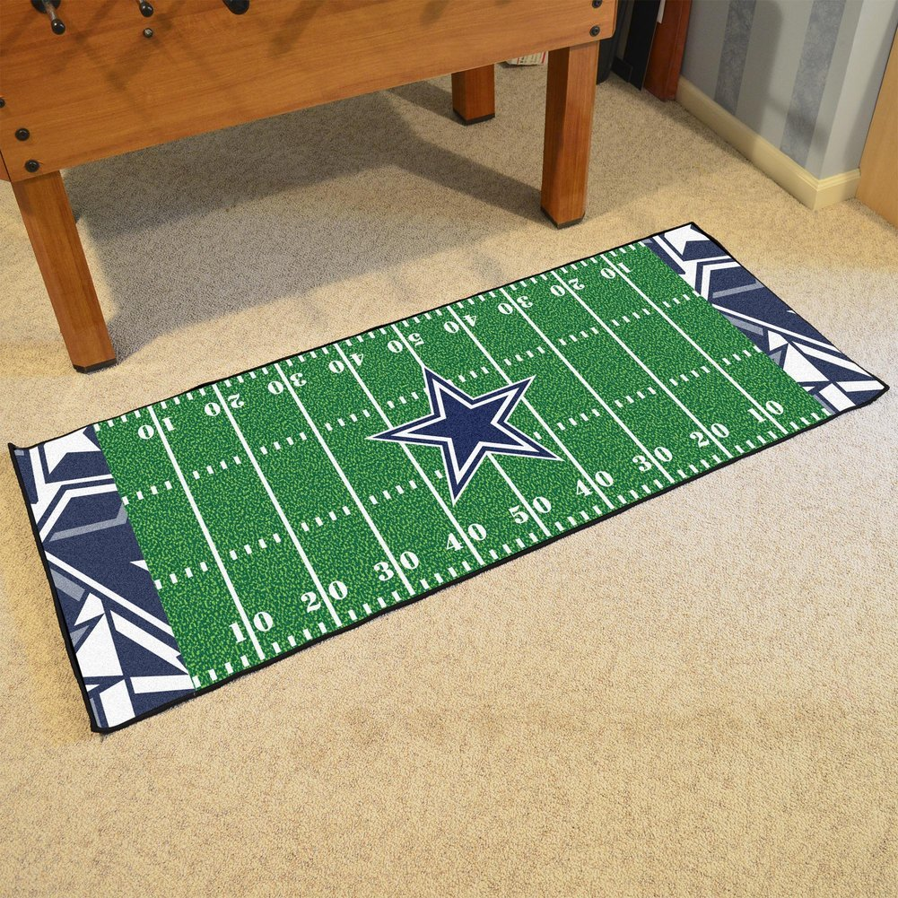 Dallas Cowboys 30 X 72 Football Field Rug