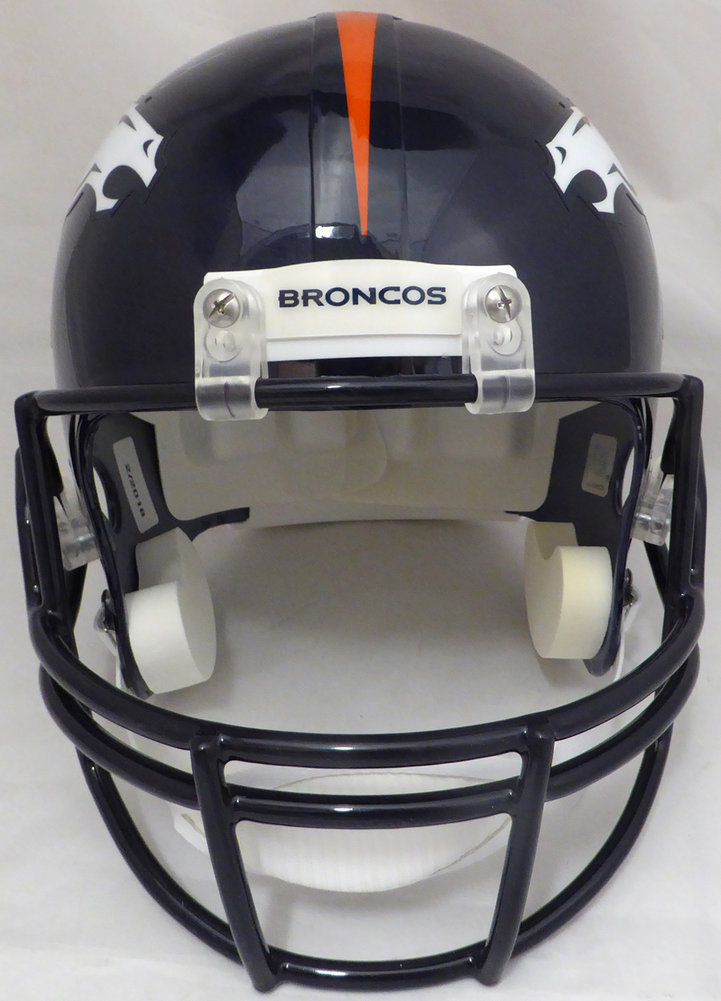 DeMarcus Ware Autographed Signed Denver Broncos Full Size Replica Helmet - Beckett Authentic Image a