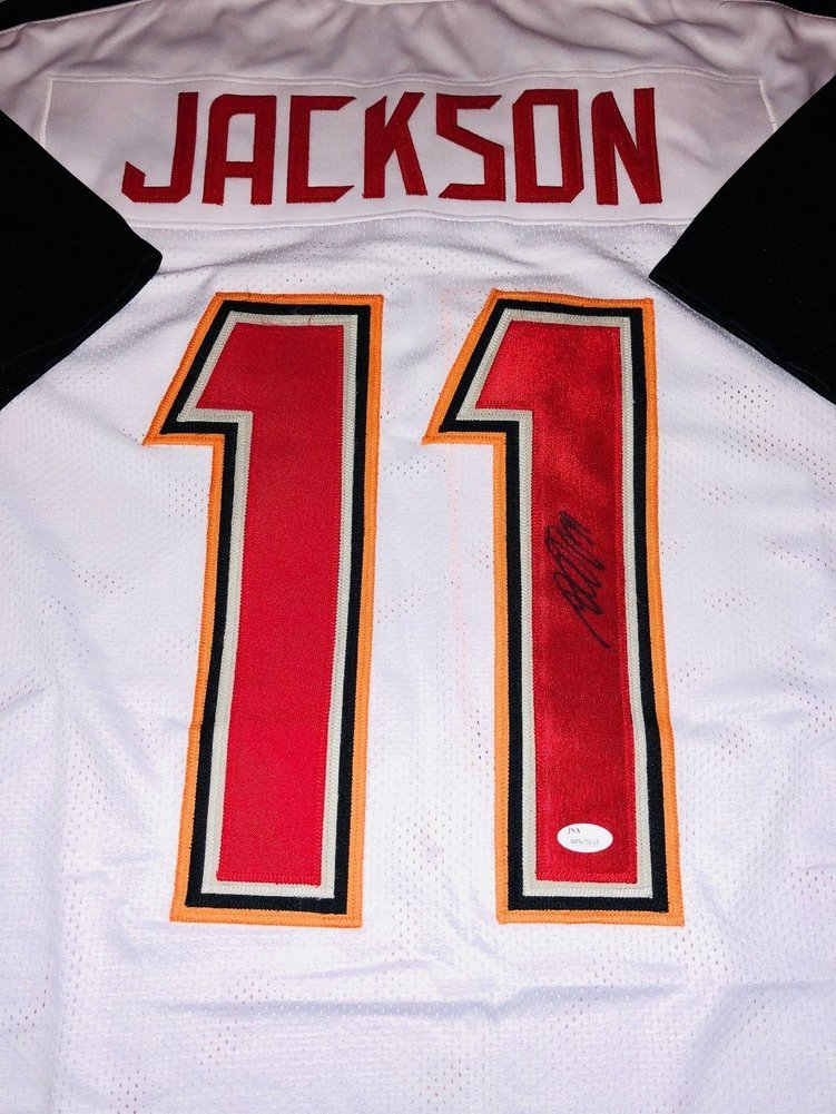 Desean Jackson Autographed Signed Jersey NFL Tampa Bay Buccaneers JSA Coa.  Loading Images...  271.99 Price 37b8a0e99