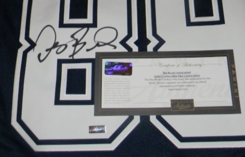 Dez Bryant Signed Dallas Cowboys 88 Nike Limited Navy