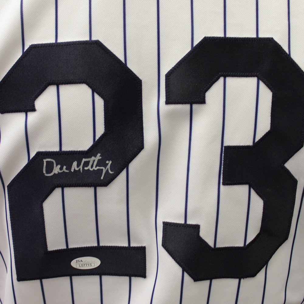 Don Mattingly Autographed Signed New York Yankees Jersey