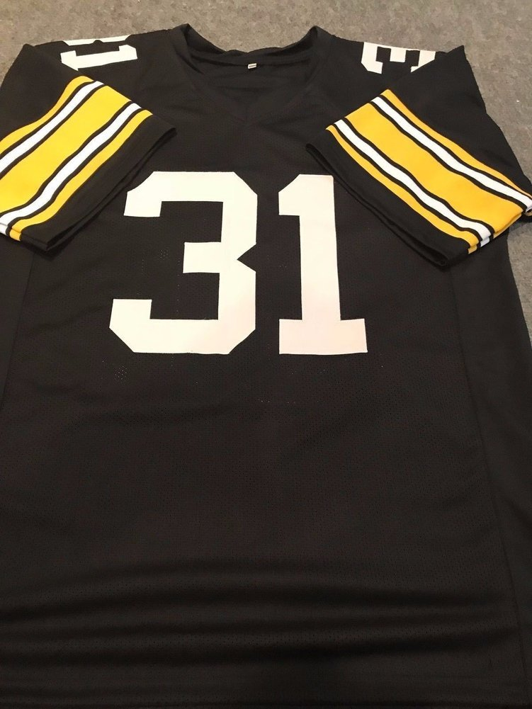 hot sale online 34f8f 52a97 Donnie Shell Autographed Signed Pittsburgh Steelers Jersey ...