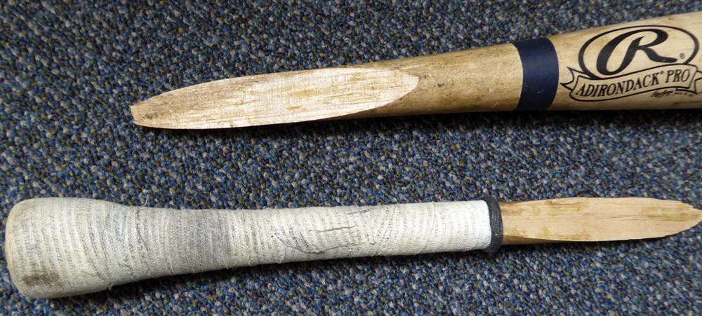 Dustin Ackley Game Used Rawlings Big Stick Bat New York Yankees Image a
