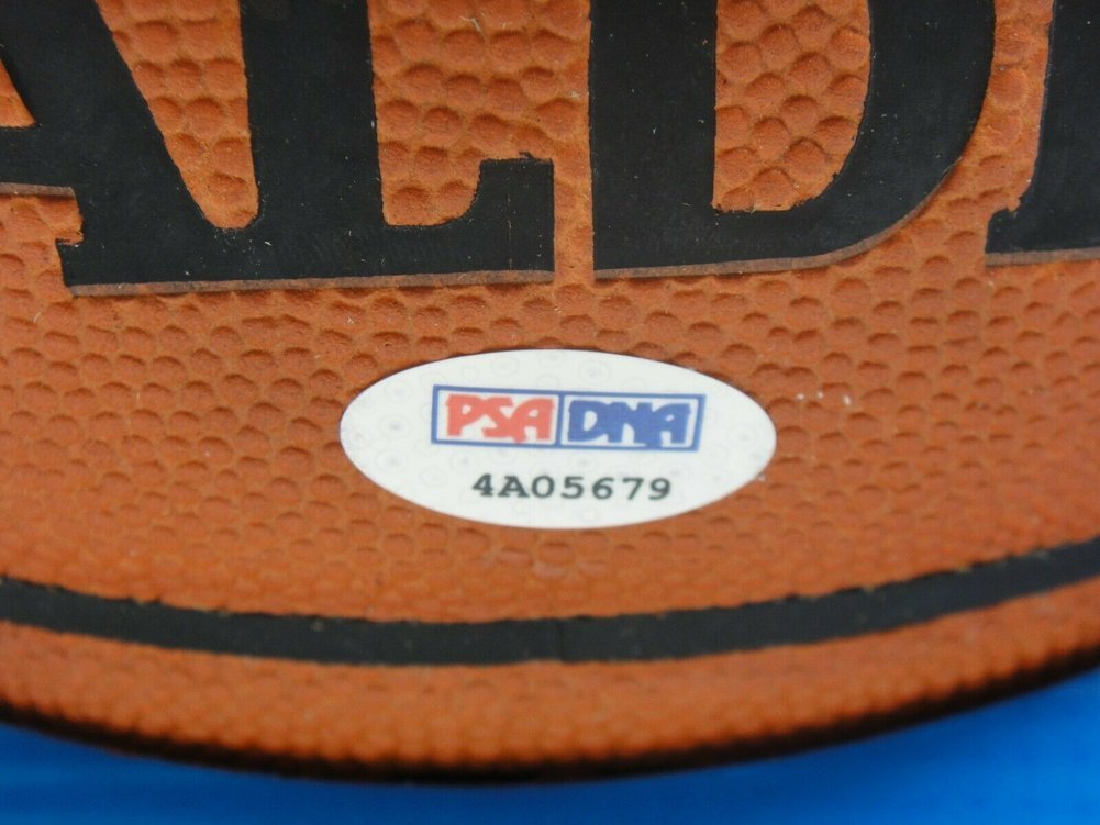 Dwyane Wade Autographed Signed PSA/DNA Official NBA Leather Game Basketball Autographed . Image a