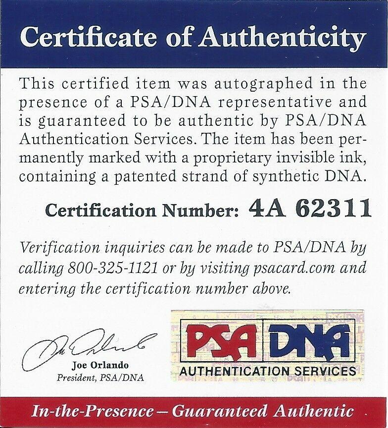 Dwyane Wade Autographed Signed PSA/DNA 8X10 Photograph, Miami Heat Autographed Dunk Image a