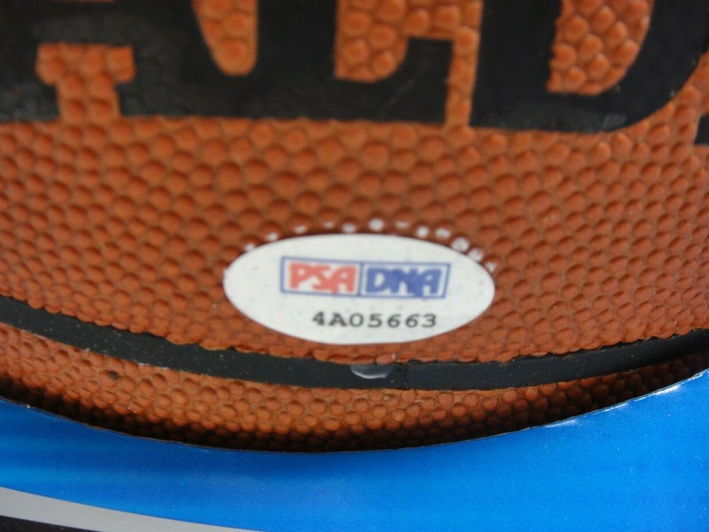 Dwyane Wade Autographed Signed PSA/DNA Official NBA Leather Game Basketball Autograph . Image a