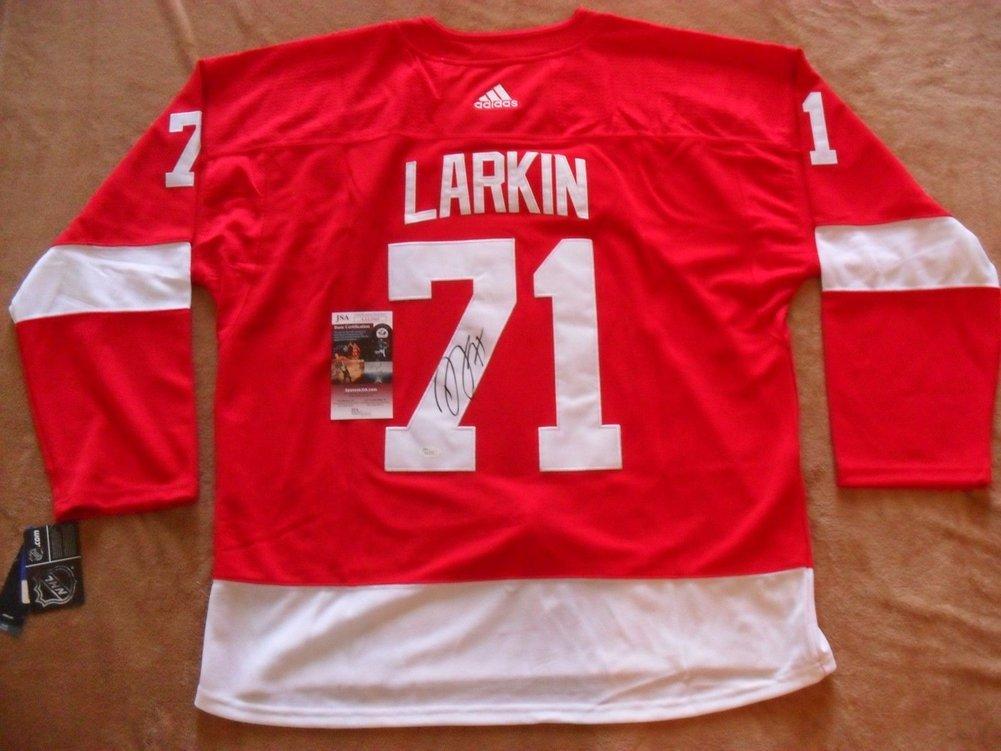 50dea5a8d71 Dylan Larkin Autographed Signed Detroit Red Wings Jersey Memorabilia JSA  Certified COA. Loading Images... $479.99 Price