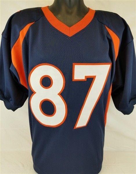 Ed Mccaffrey 3X SB Champ Autographed Signed Denver Broncos Custom ... 85a9b9165