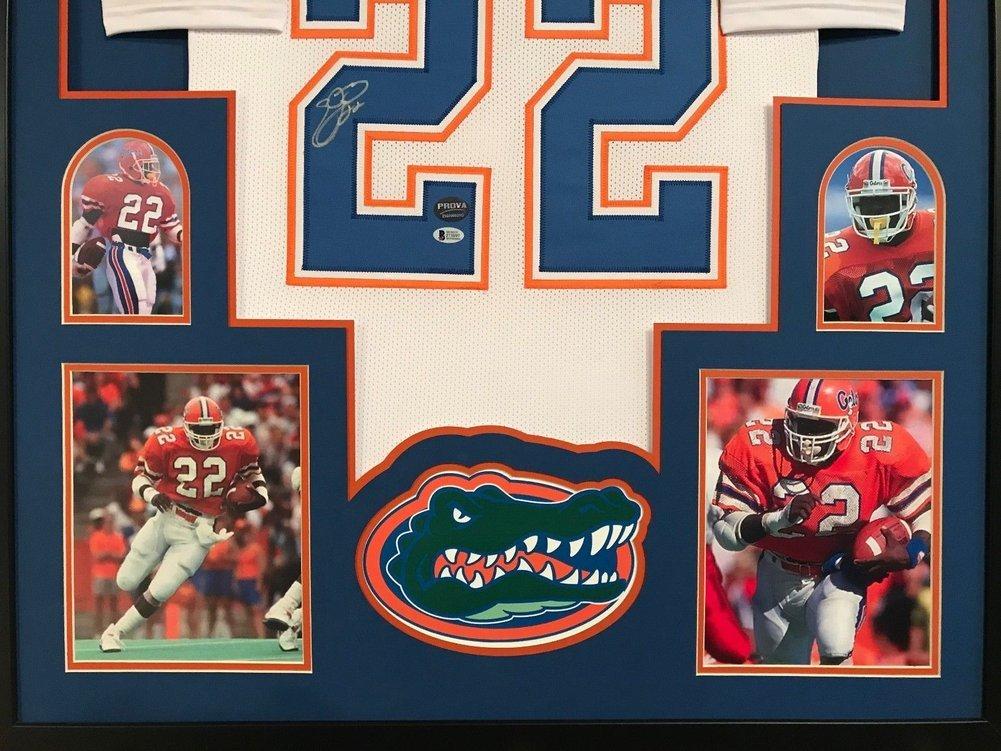 new york cb8bd 82ee9 Emmitt Smith Autographed Signed Custom Framed Florida Gators ...