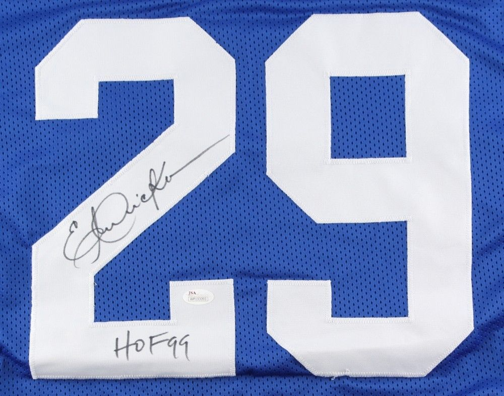 huge discount 1021c c9614 Eric Dickerson Autographed Signed Indianapolis Colts Jersey ...
