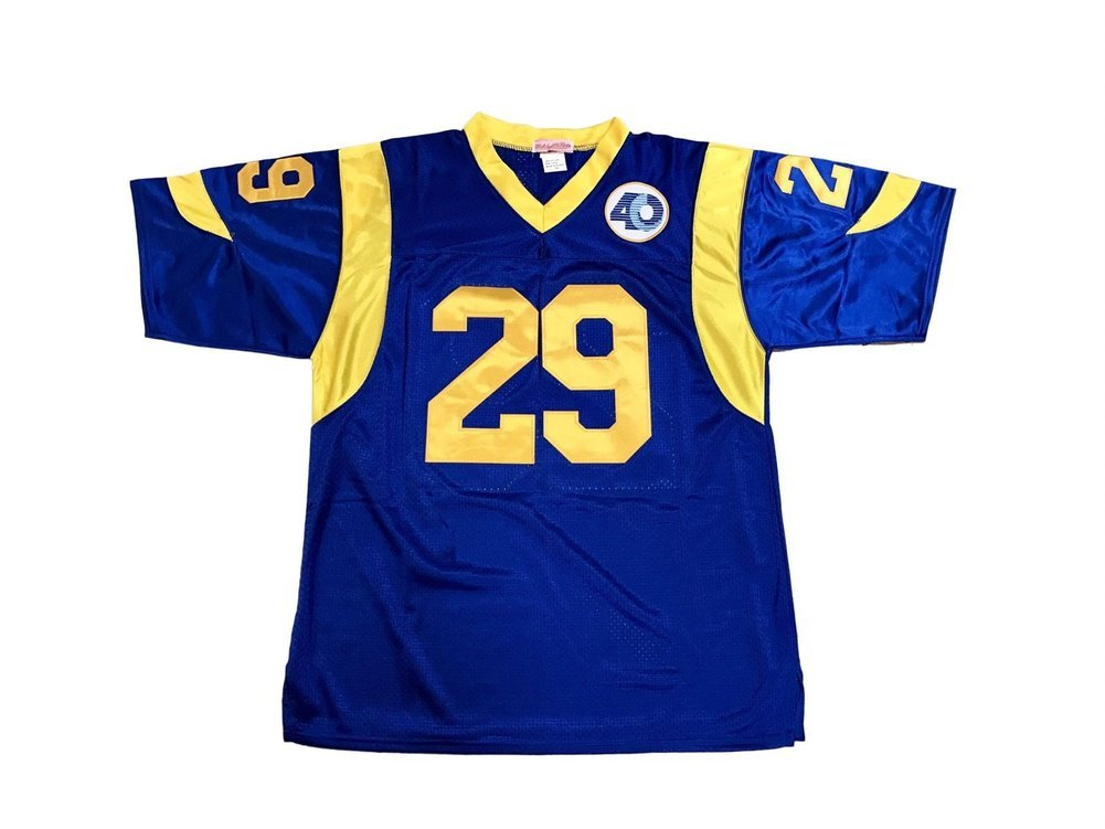 pretty nice b0571 f1ccd Eric Dickerson Los Angeles Rams Home Autographed Signed ...