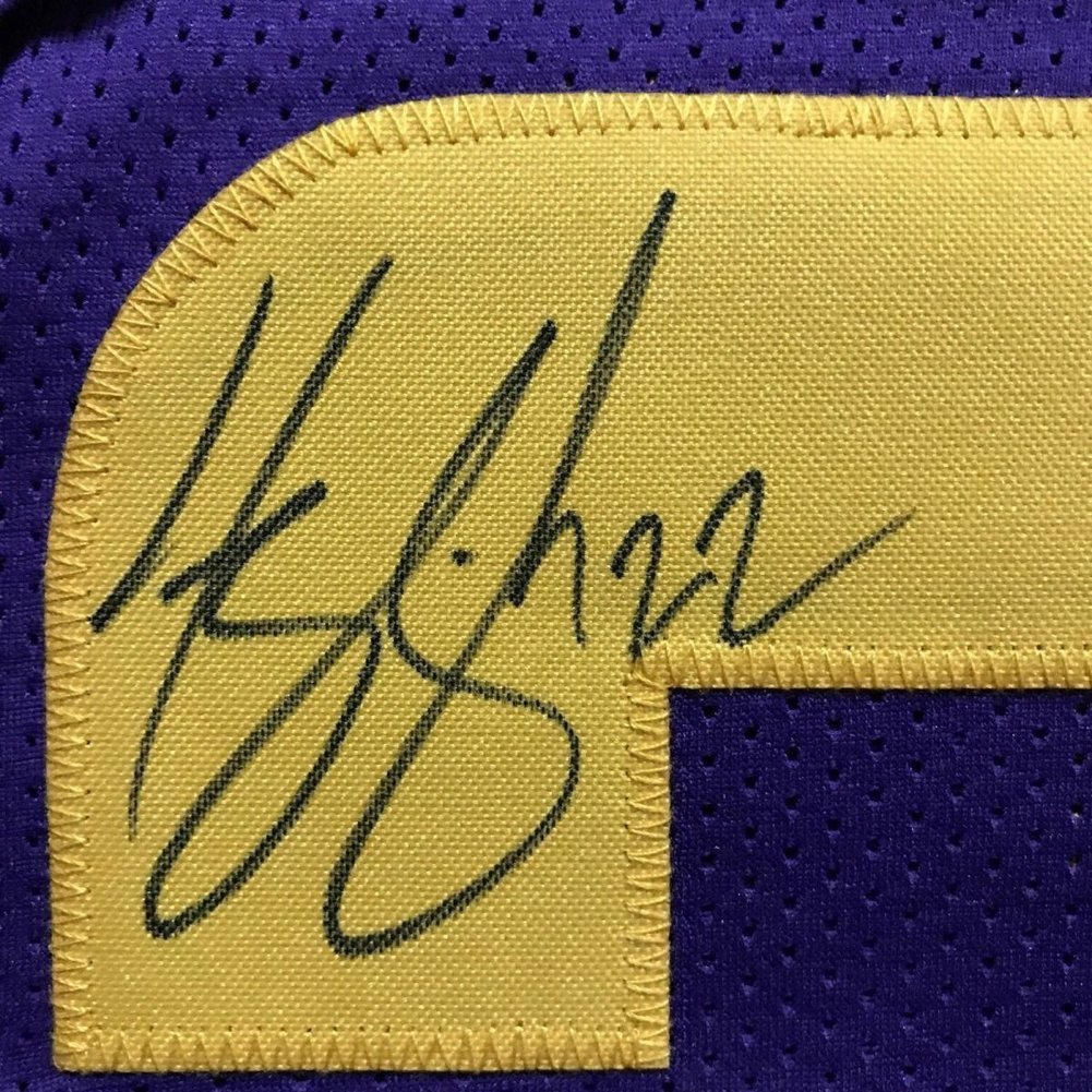 Framed Autographed Signed Harrison Smith 33x42 Color Rush Jersey - JSA  Authentic d8604f68e