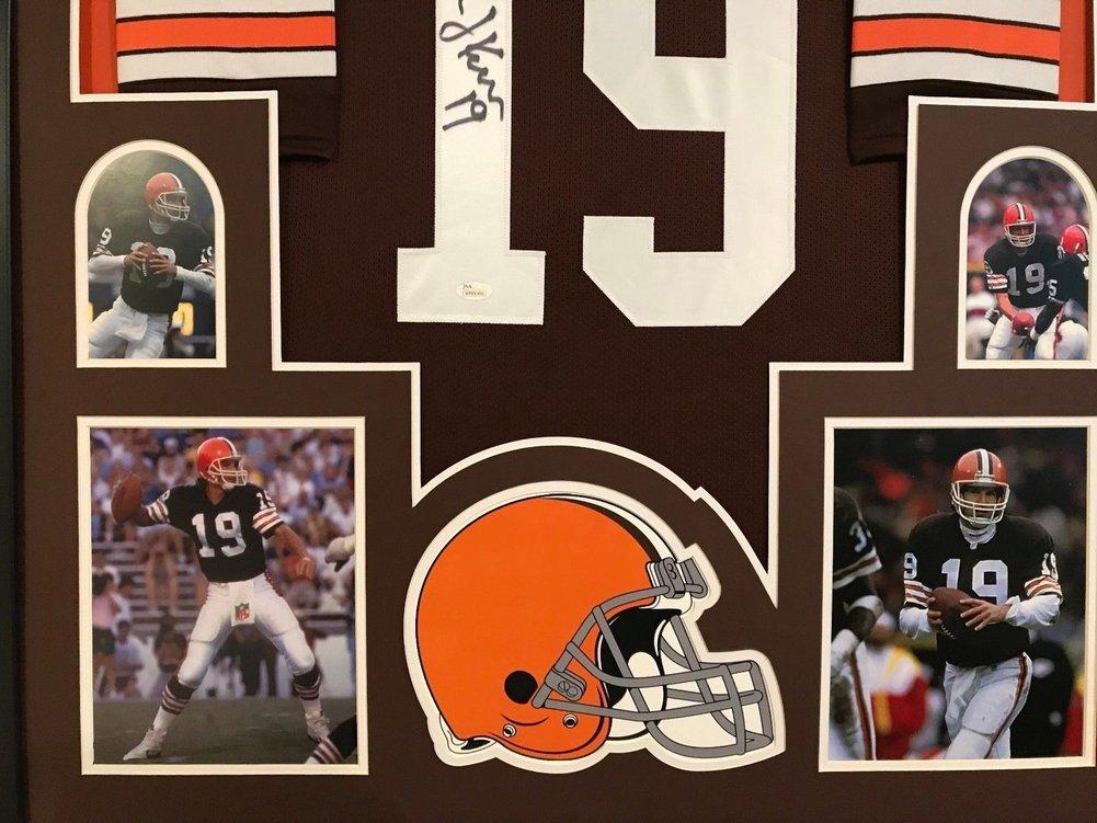 huge discount 4f044 607af Framed Bernie Kosar Autographed Signed Cleveland Browns ...