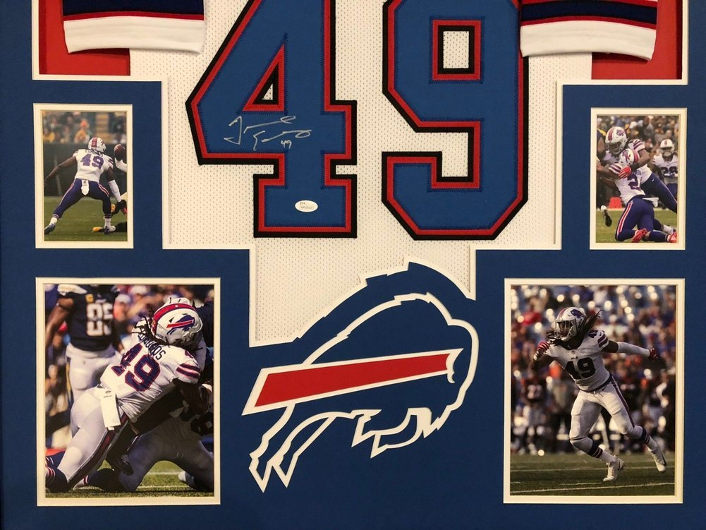 reputable site 0716e 747d7 Framed Buffalo Bills Tremaine Edmunds Autographed Signed ...