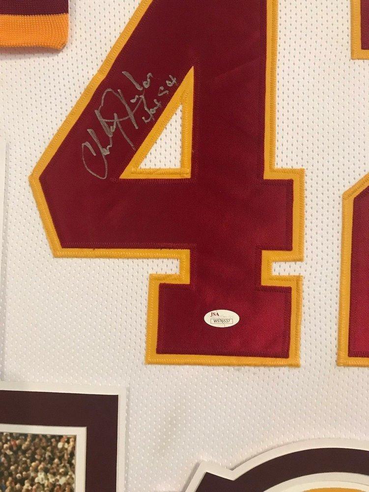 Framed Charley Taylor Autographed Signed Insc Washington Redskins Jersey -  JSA Authentication. Loading Images...  1018.99 Price 379478947