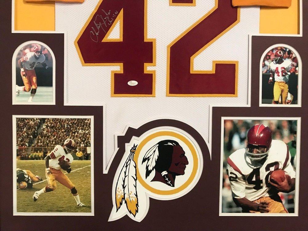 5190155b6 Framed Charley Taylor Autographed Signed Insc Washington Redskins Jersey - JSA  Authentication. Loading Images...  1018.99 Price