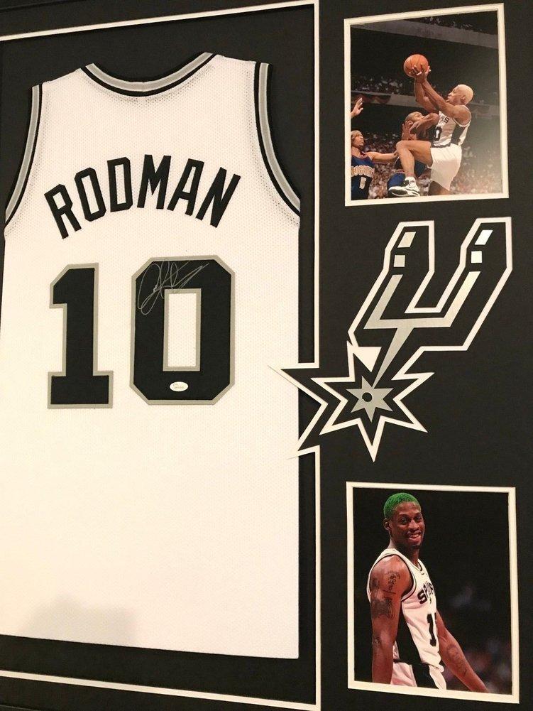 cdc5f967772 Framed Dennis Rodman Autographed Signed San Antonio Spurs Jersey - JSA  Authentic. Loading Images...  1335.99 Original