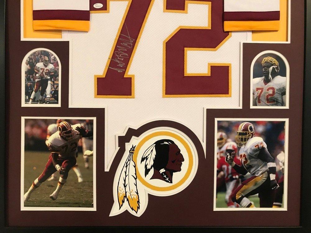 best service 649aa ca74f Framed Dexter Manley Autographed Signed Washington Redskins ...