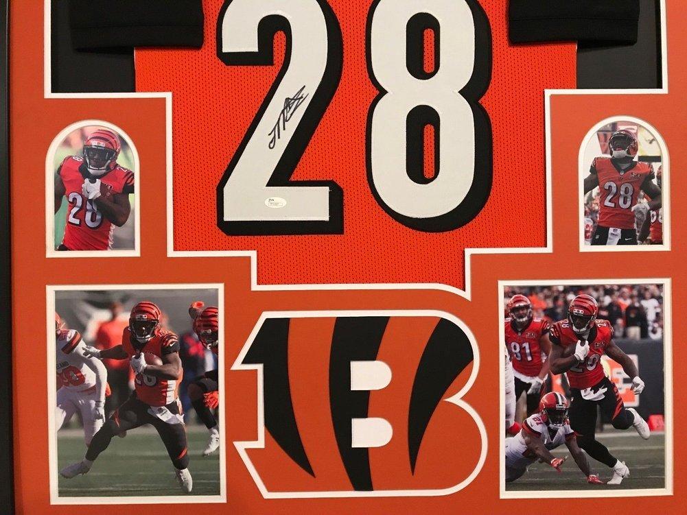 311de9054 Framed Joe Mixon Autographed Signed Cincinnati Bengals Jersey - JSA  Authentication. Loading Images...  1325.99 Price
