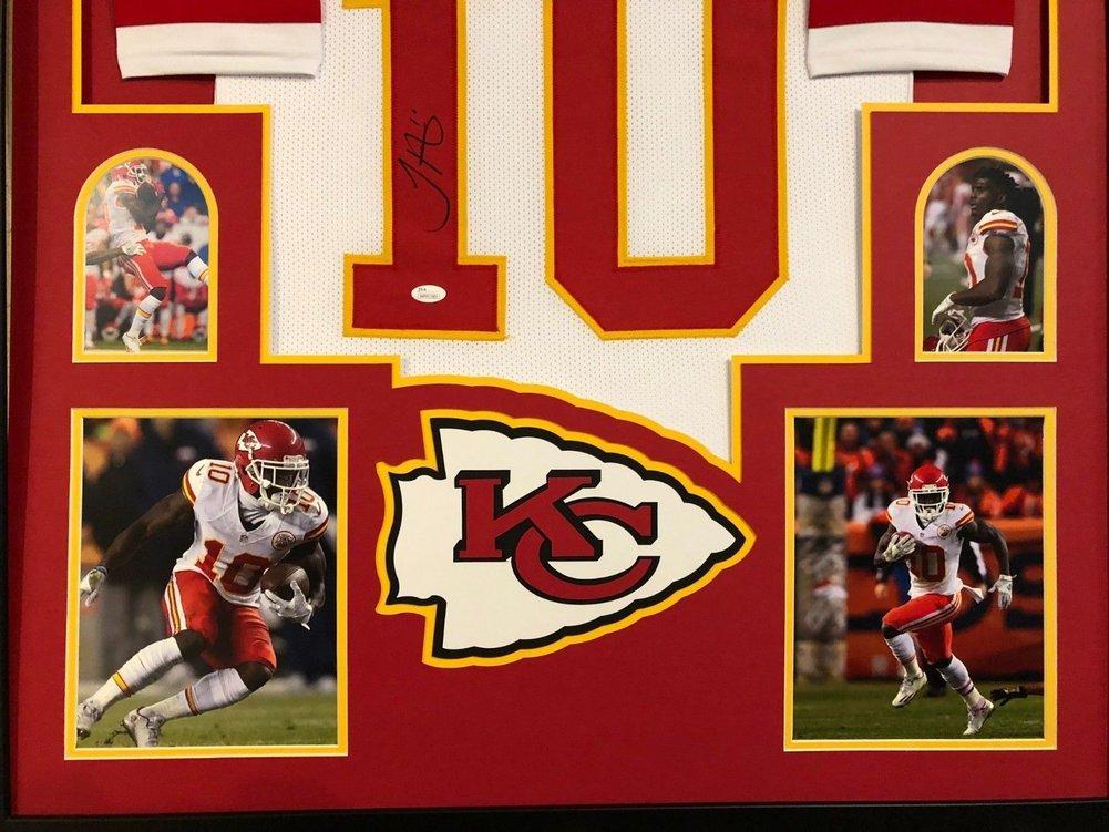 online store ac009 248d4 Framed Kansas City Chiefs Tyreek Hill Autographed Signed ...