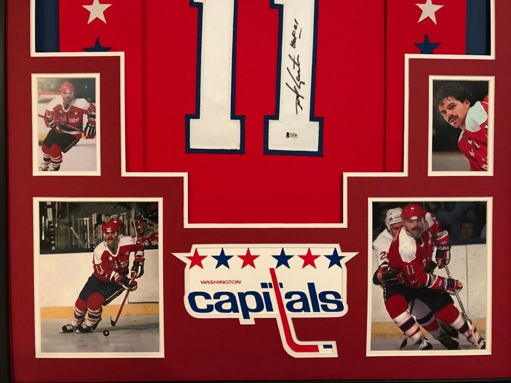 Framed Mike Gartner Autographed Signed Insc. Washington Capitals Jersey Bas  Coa - Certified Authentic. Loading Images...  965.99 Price fff436fa8