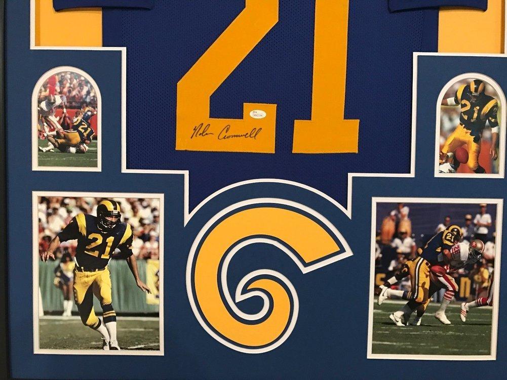 Framed Nolan Cromwell Autographed Signed La Rams Jersey - JSA ... dc455fd88