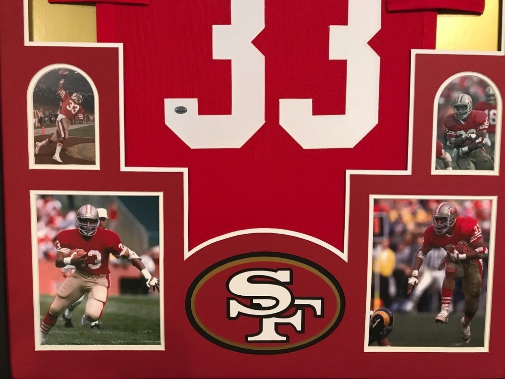 79f6e1e6742 Framed Roger Craig Autographed Signed San Francisco 49ers Jersey Gtsm Coa -  Certified Authentic. Loading Images...  1631.99 Original