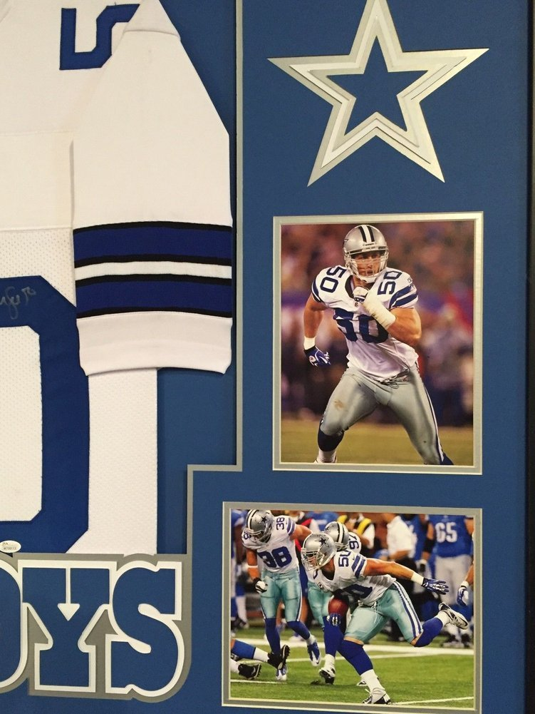 728e1baab Framed Sean Lee Autographed Signed Dallas Cowboys Jersey - JSA  Authentication. Loading Images... $1199.99 Price