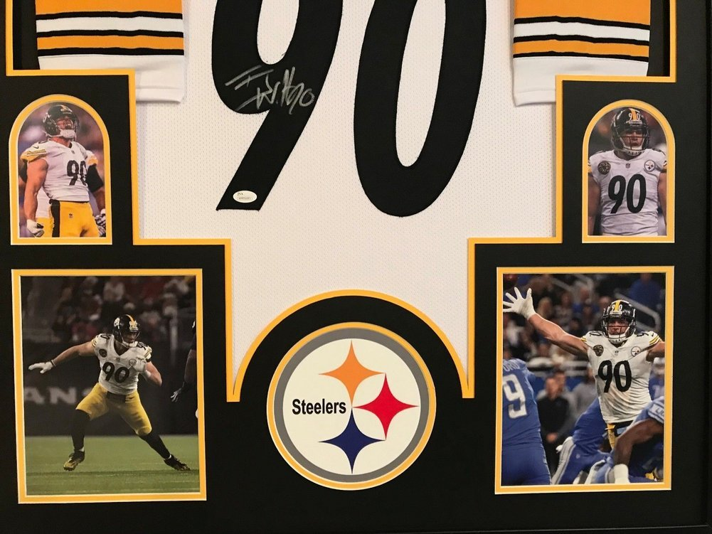 75eff09ad Framed T.J. Tj Watt Autographed Signed Pittsburgh Steelers Jersey - JSA  Authentication. Loading Images...  1384.99 Price