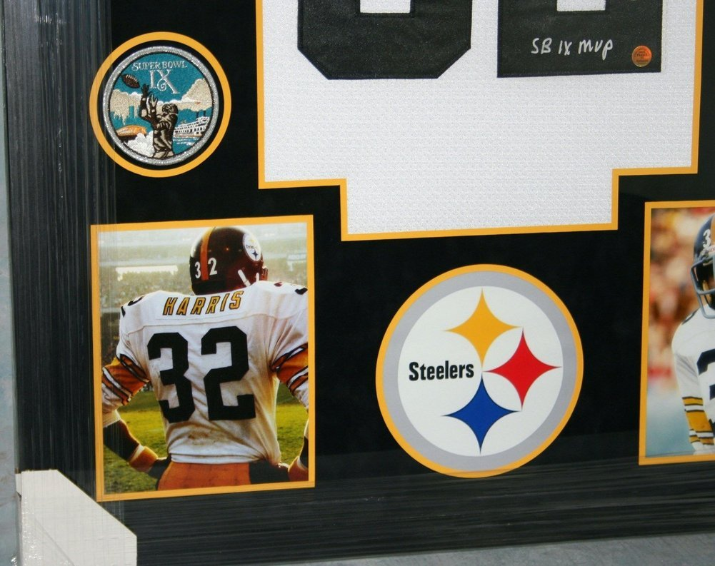 3b5d4815198 Franco Harris Framed Pittsburgh Steelers White Jersey Autographed Signed  Memorabilia - JSA Authentic. Loading Images... $1542.99 Price