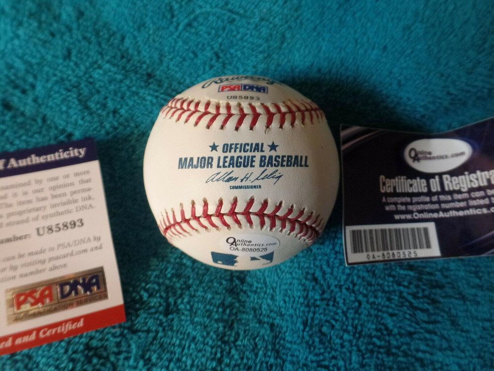 Future Hofer Carlos Beltran Autographed Signed Ml Baseball