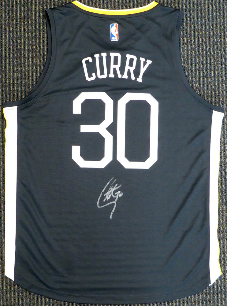 new product ed917 128a4 Golden State Warriors Stephen Curry Autographed Signed ...