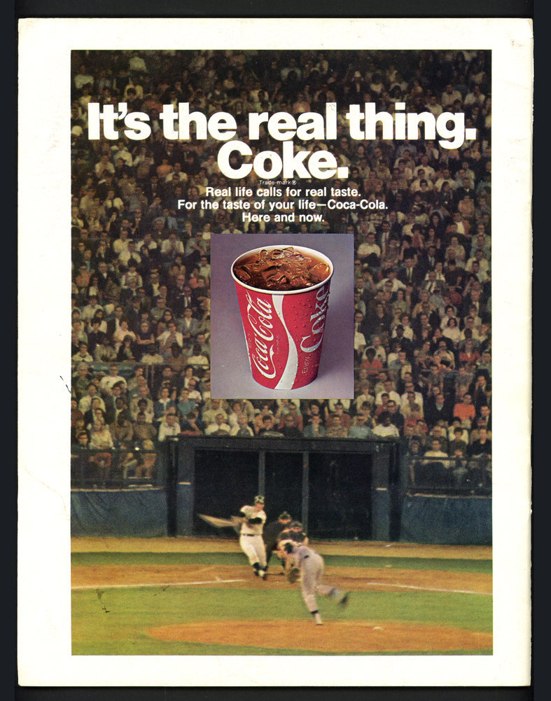 Hank Aaron Autographed Signed 1970 Atlanta Braves Scorebook Atlanta Braves Beckett BAS #S99508 Image a