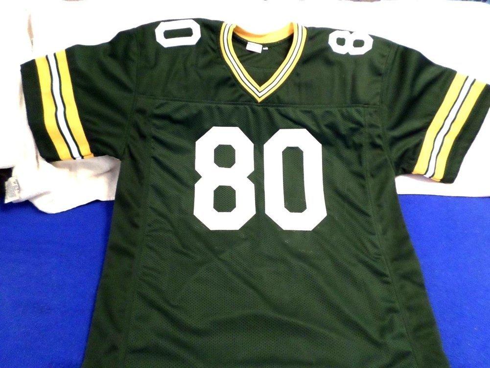 detailed look f1966 94378 HOF James Lofton Autographed Signed Custom Green Bay Packers ...