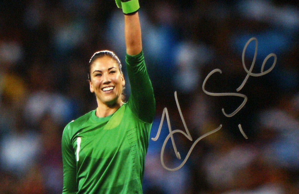 Hope Solo Autographed Signed Team USA 16x20 Photo Soccer ...
