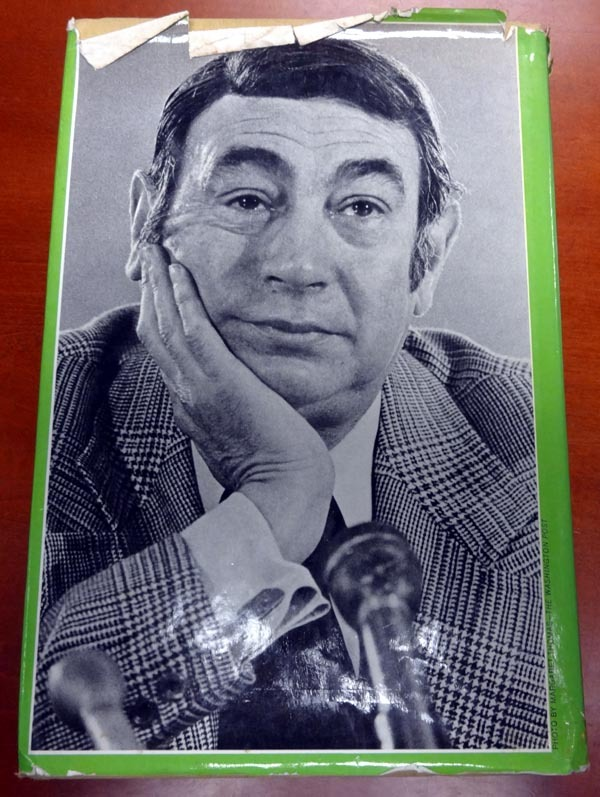 Howard Cosell Autographed Signed Book - PSA/DNA Certified Image a