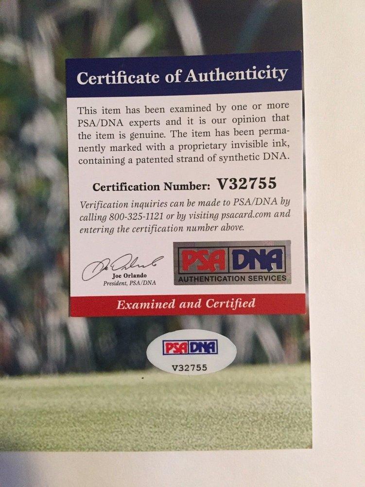 Ian Poulter Autographed 11x14 Pga Golf Photo Psadna Authentic