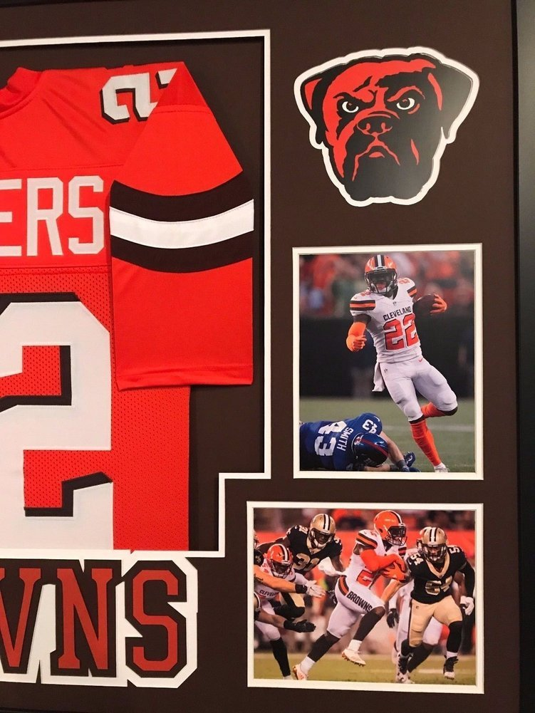 Jabrill Peppers Autographed Signed Custom Framed Cleveland Browns Jersey 1  Memorabilia - JSA Authentic. Loading Images...  615.99 Price 71a264fdc