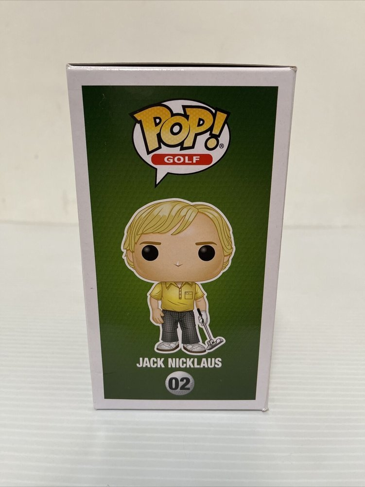 Jack Nicklaus Autographed Signed Autographed Golf Funko Pop The Golden Bear Beckett COA Image a
