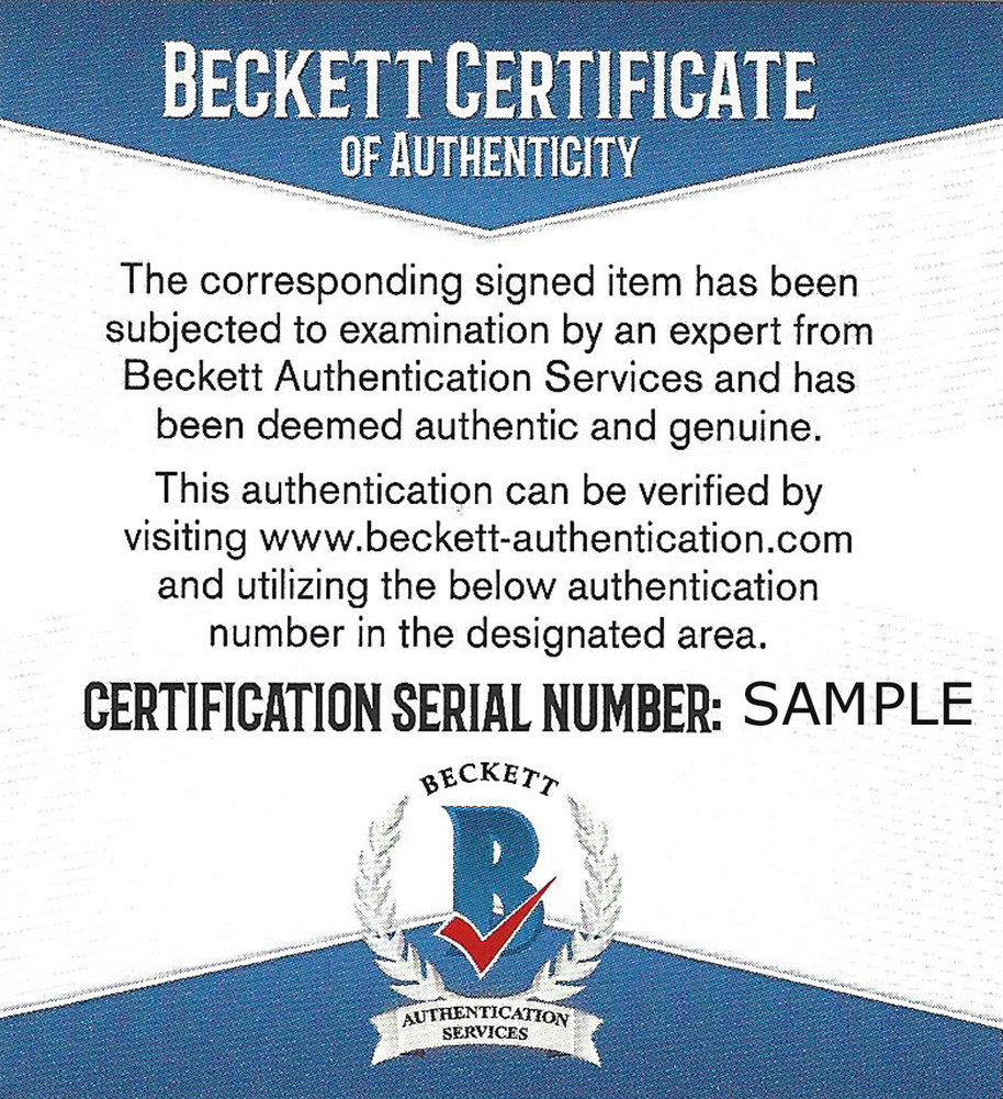 Jackie Smith Autographed Signed First Day Cover - Beckett Authentic Image a