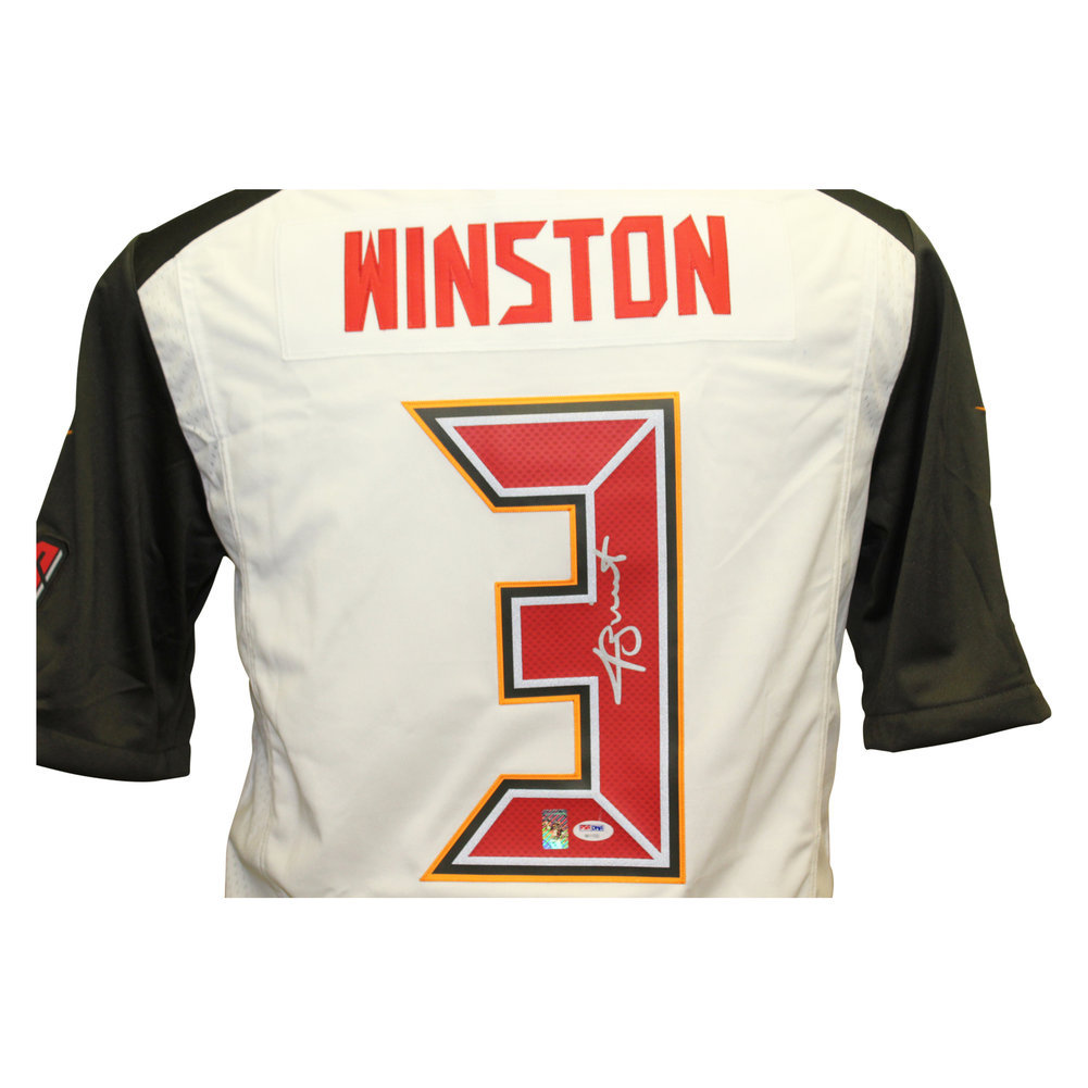 Jameis Winston Autographed Signed Tampa Bay Buccaneers Nike On Field Jersey  - PSA DNA Authentic. Loading Images...  345.99 Price 14eba141f