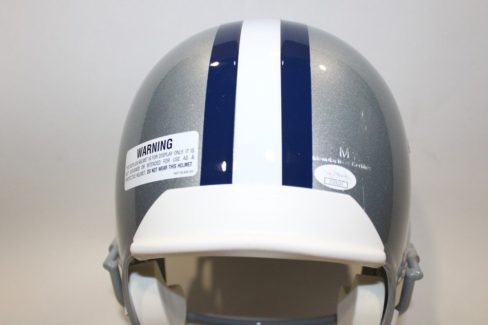 6c3d4f105 Jaylon Smith Autographed Signed Dallas Cowboys FullSize Helmet JSA COA  Autographed Signed. Loading Images...  340.99 Price