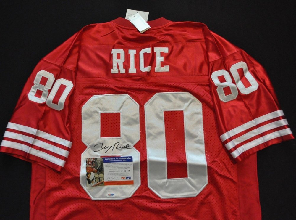 new styles 2698a 516c6 Jerry Rice San Francisco 49ers M&N NFL Jersey Red ...