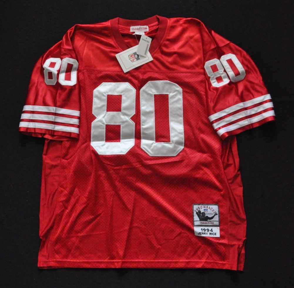 new styles 3ad9d 242fb Jerry Rice San Francisco 49ers M&N NFL Jersey Red ...