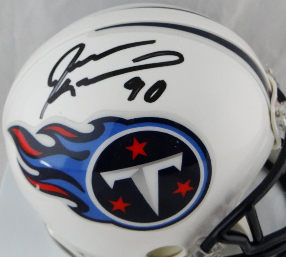 Jevon Kearse Autographed Signed Tenn Titans Mini Helmet - Beckett Authentic.  Loading Images...  89.99 Price 6f31ec184