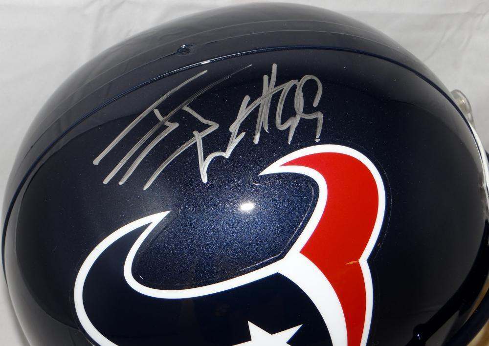 Jj Watt Autographed Signed Houston Texans Full Size Helmet- JSA ... c69949a74
