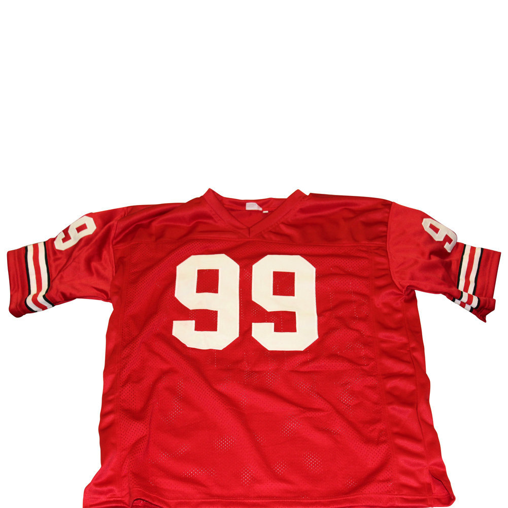premium selection fed49 6e08f JJ Watt Wisconsin Badgers Unsigned Custom Football Jersey ...