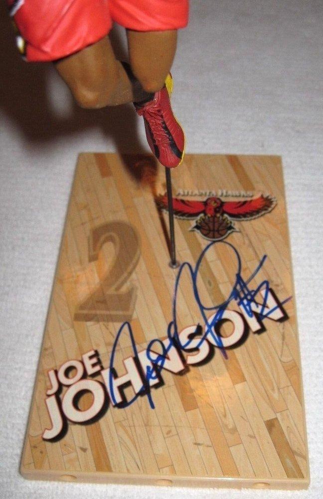 Joe Johnson Autographed Signed Mcfarlane Figure Autograph Atlanta Hawks JSA COA Image a