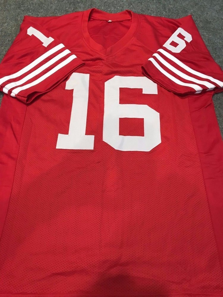 f2862a71632 Joe Montana Autographed Signed S.F. 49ers Jersey - JSA Authentication.  Loading Images...  585.99 Price