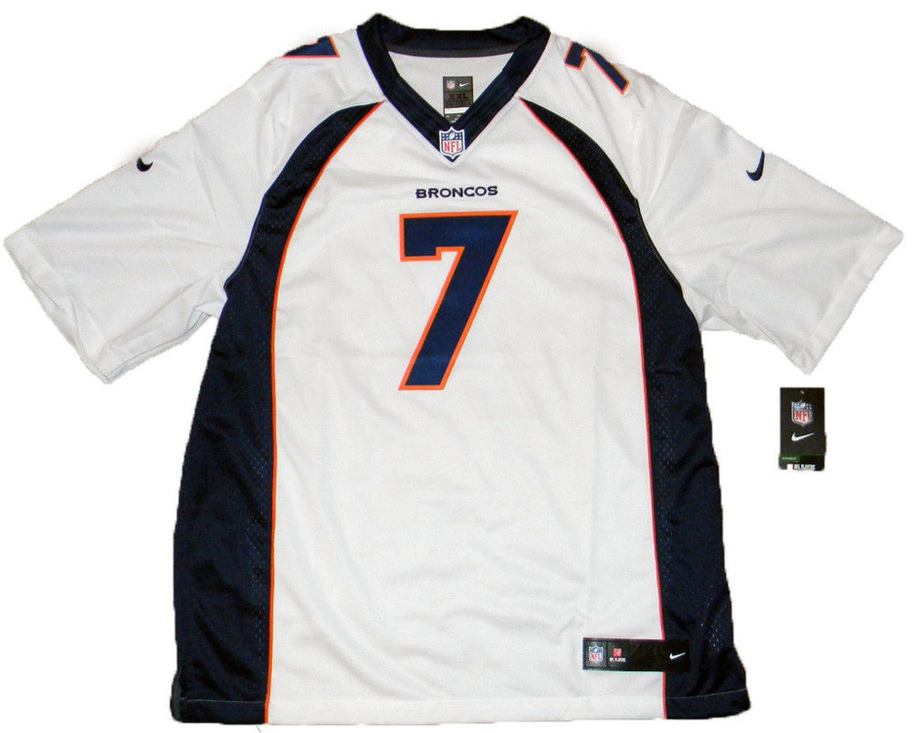 John Elway Autographed Denver Broncos White Nike Limited Jersey Beckett  Signed - Certified Authentic. Loading Images...  1081.99 Price 4ddbd2bd6